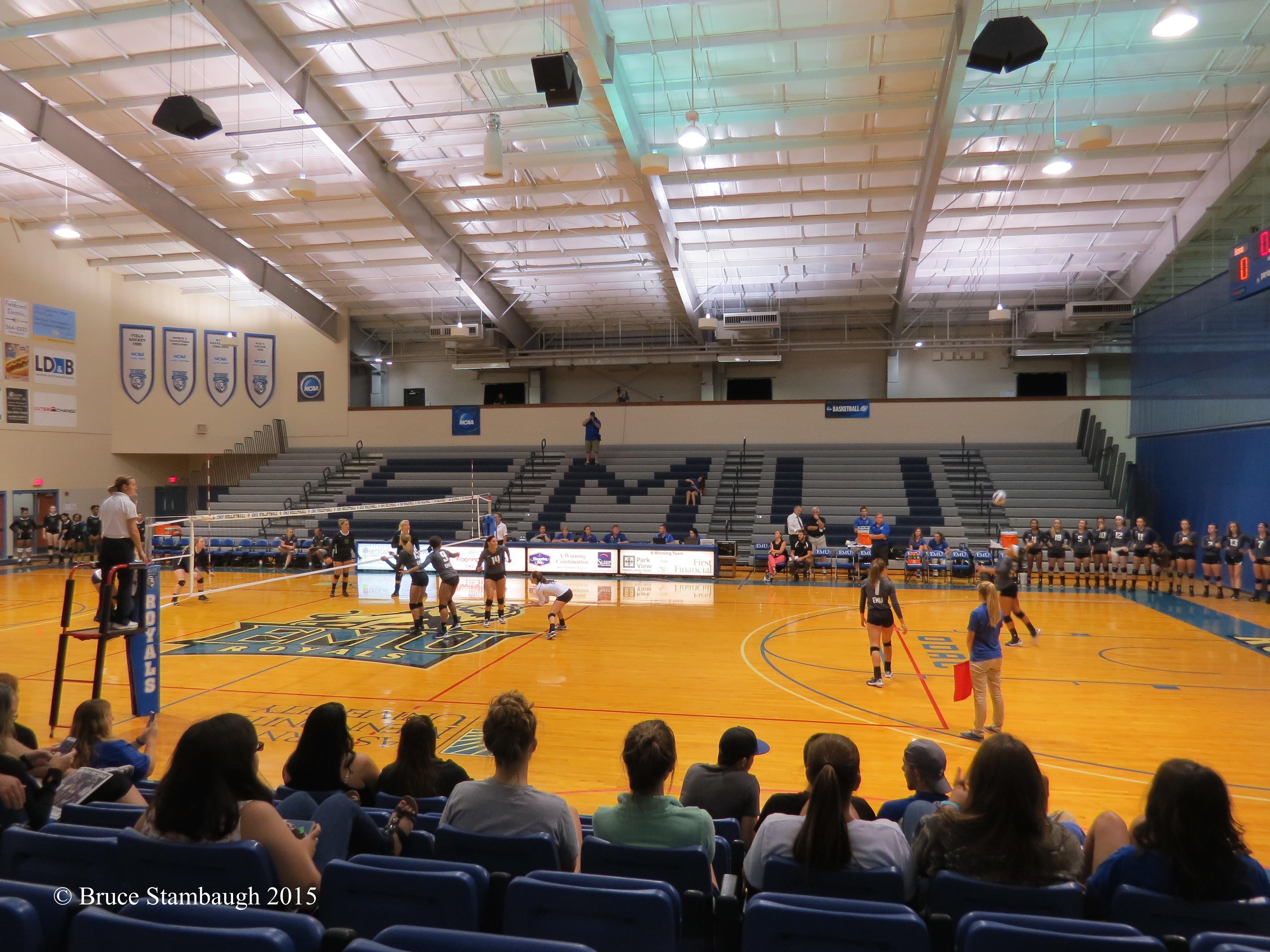 women's volleyball, Eastern Mennonite University