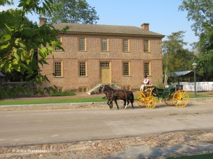Colonial Williamsburg carriage