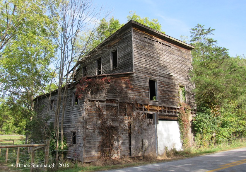 abandoned building, Lost River WV
