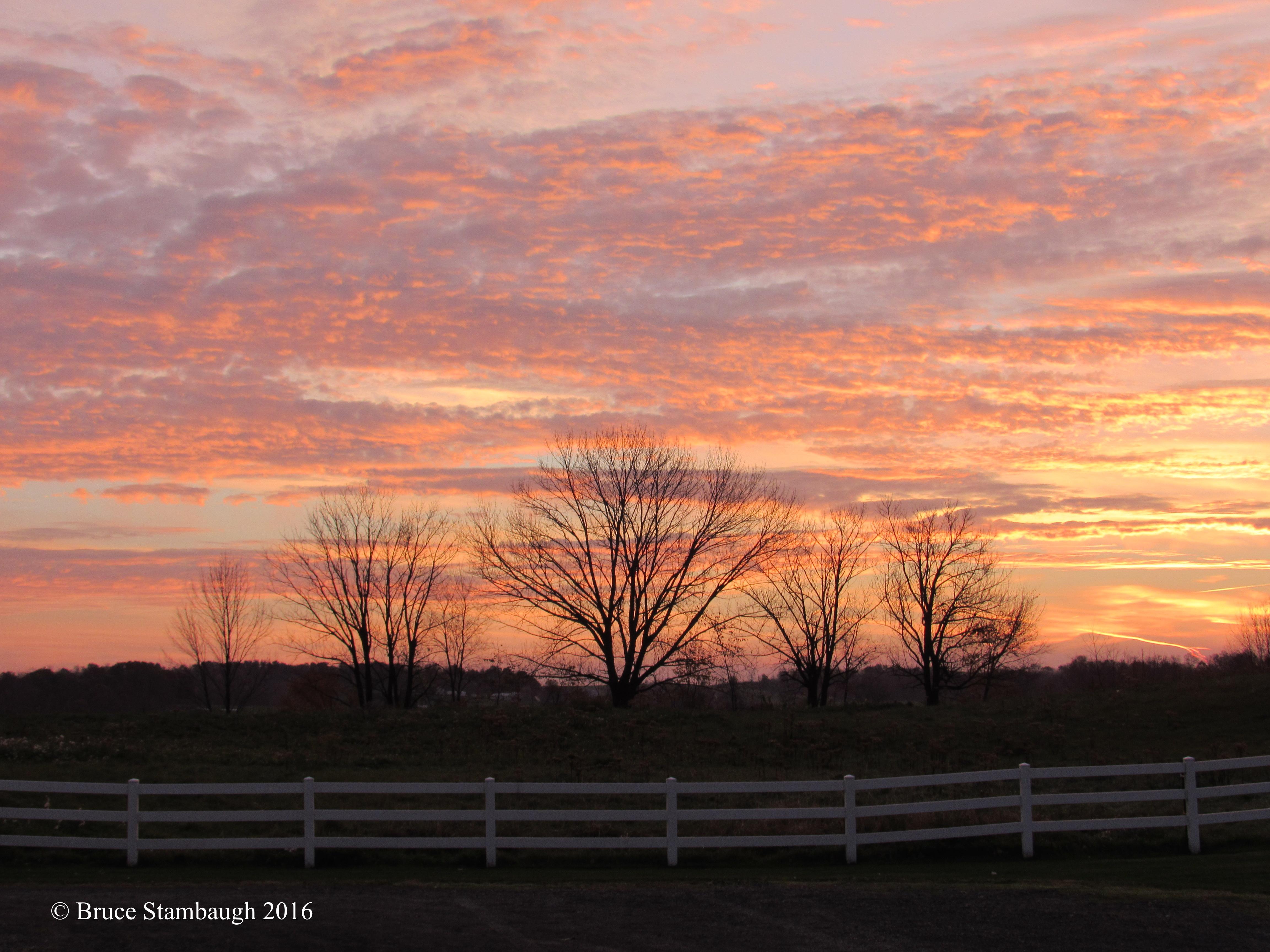 sunrise, Ohio's Amish Country