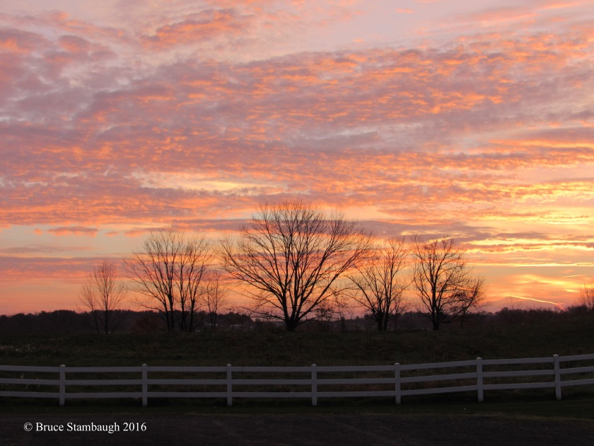 sunrise, Ohio's Amish Country