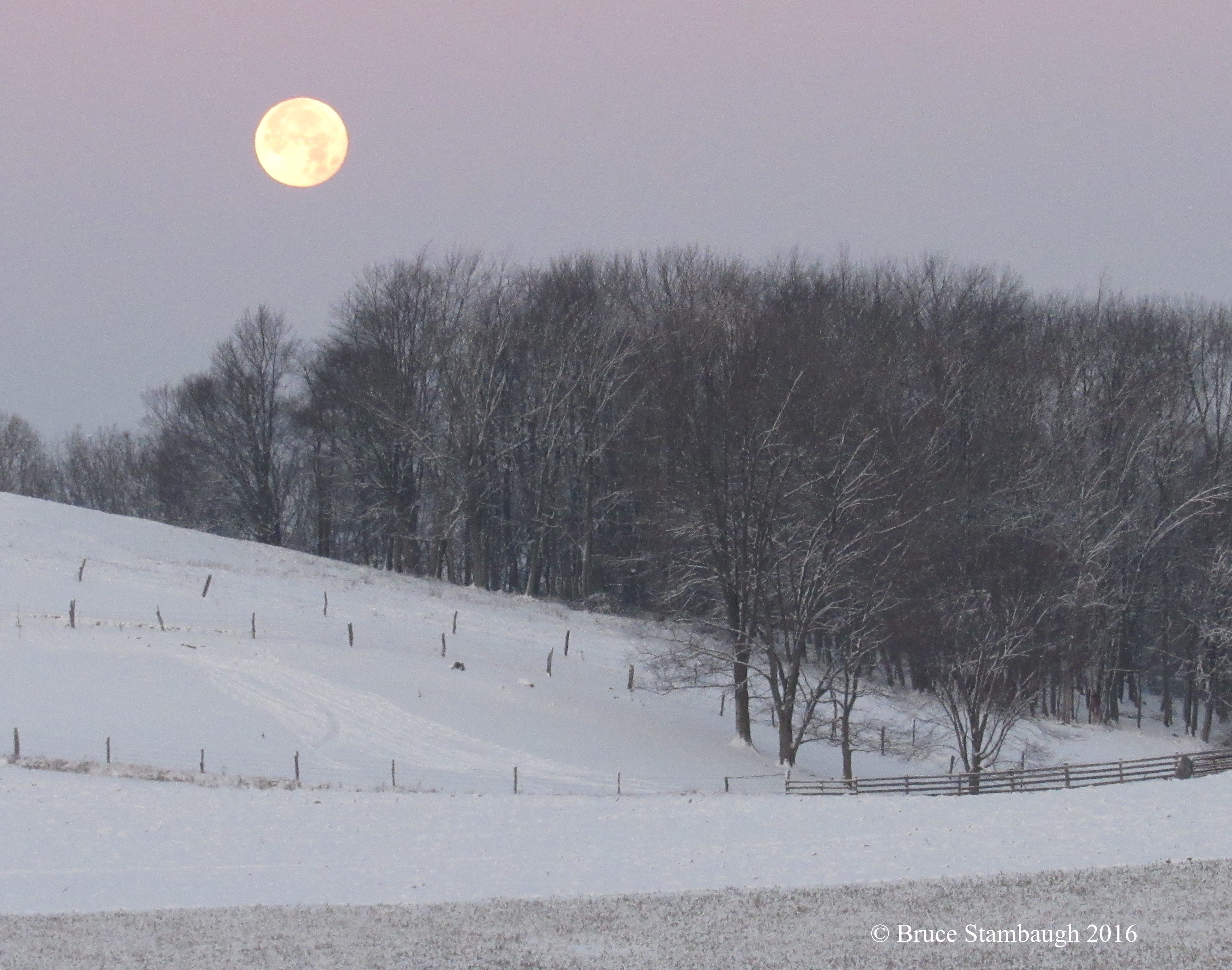 super full moon, long night moon