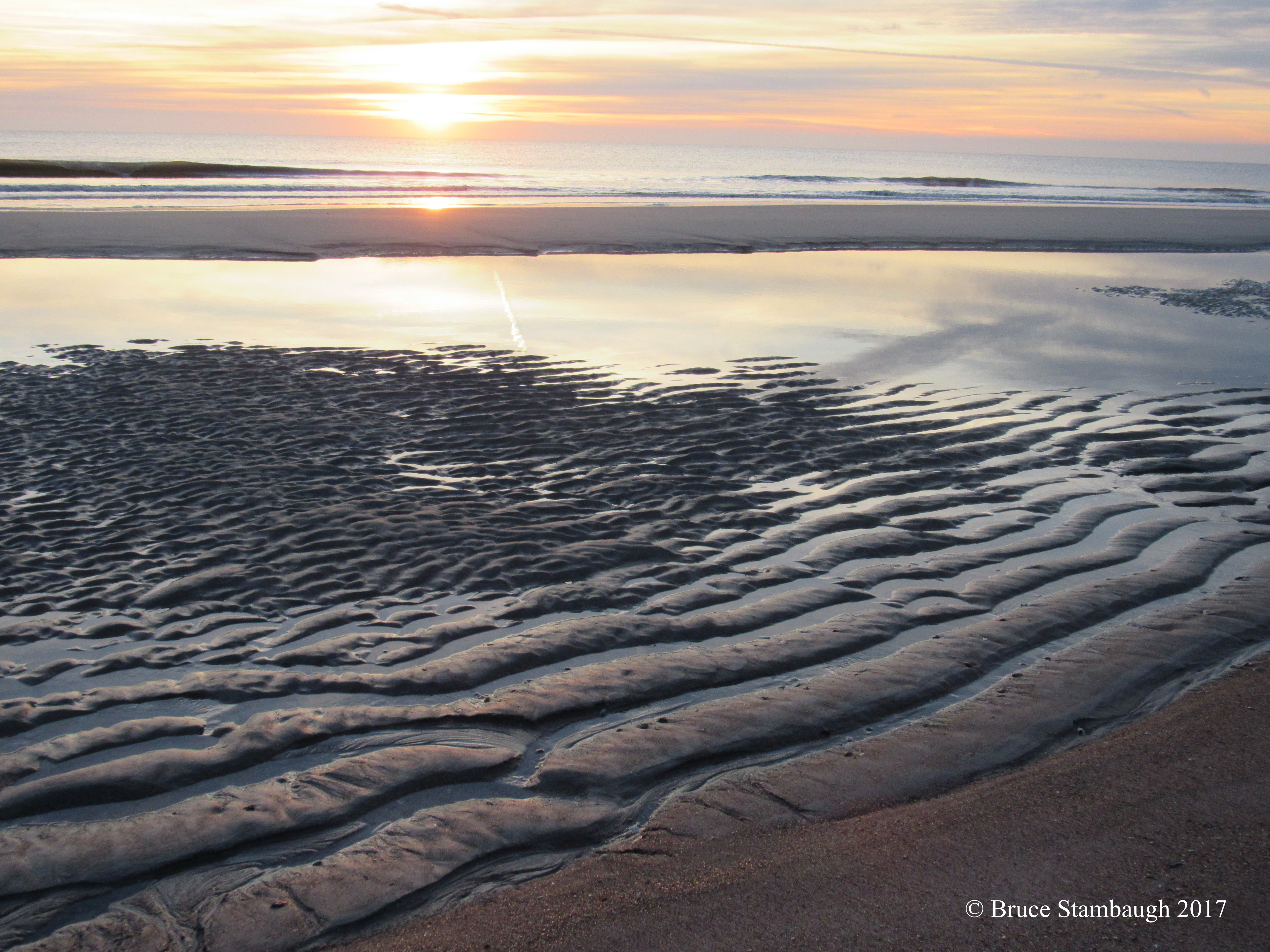low tide, sunrise, dawn, Fernandina Beach FL