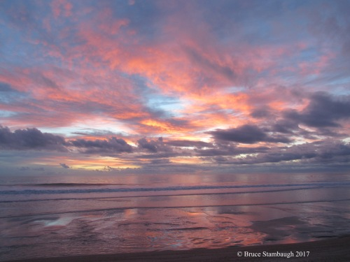 dawn, colorful sunrise