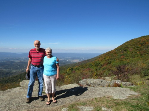 Shenandoah National Park, mountain view