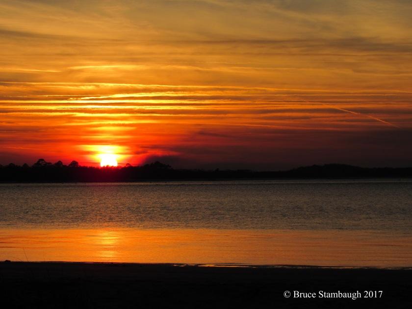 sunset, Amelia Island FL