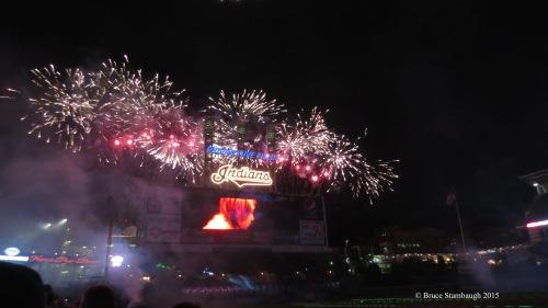 Cleveland Indians, fireworks
