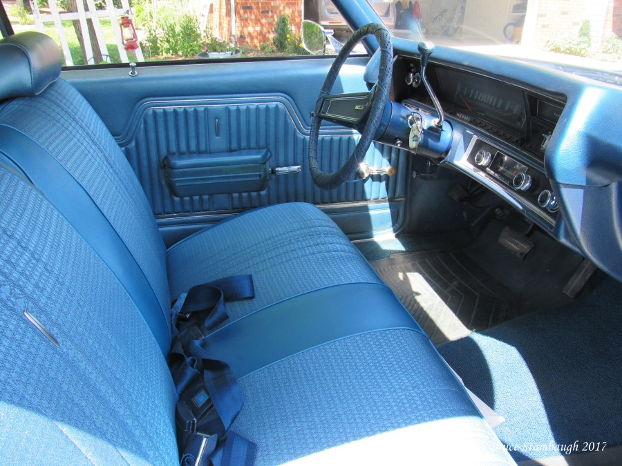 70 Chevy Malibu interior