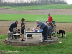 family fun, roasting hotdogs, roasting marshmellos