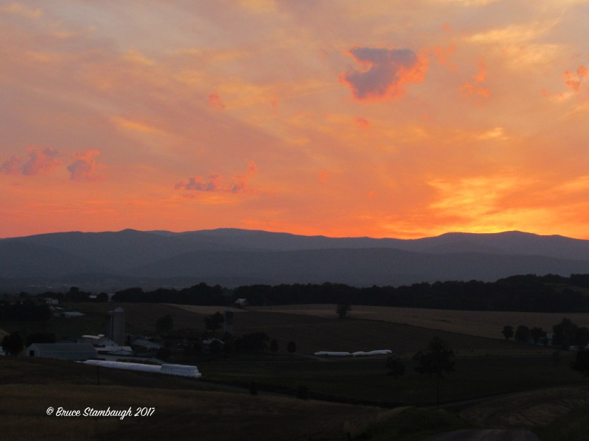 Rockingham Co. VA sunset, Shenandoah Valley VA