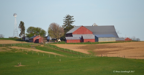 Amish farm, Ohio's Amish country