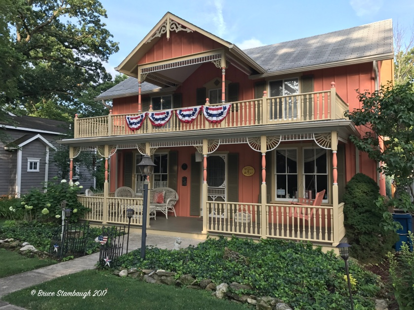 seasonal cottage, Lakeside OH