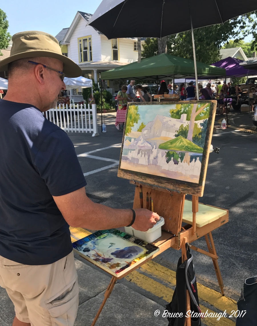 plein air, Lakeside OH