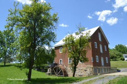 old grist mill, Rockingham Co. VA