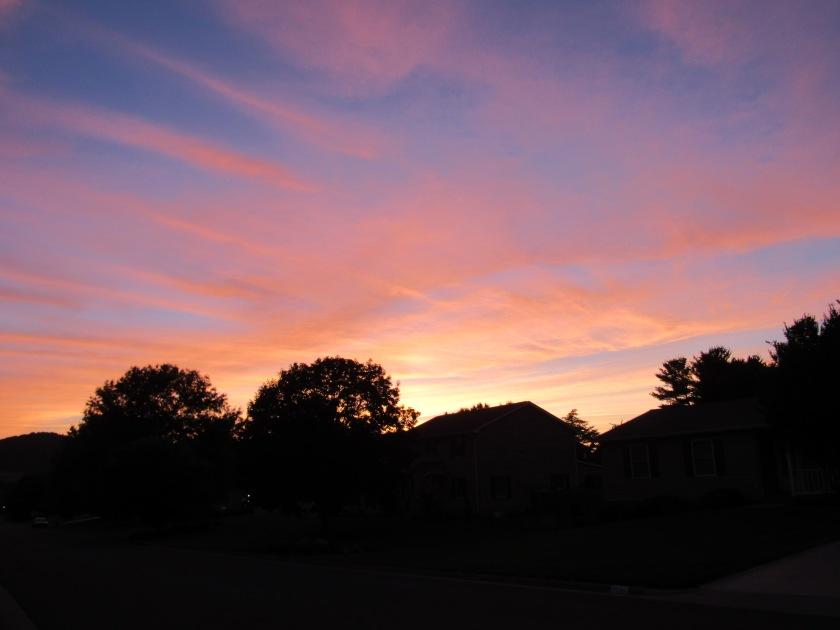 Rockingham Co. VA, sunset