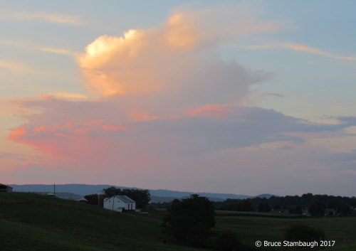 thunderstorm, Allegheny Mountains, Shenandoah Valley