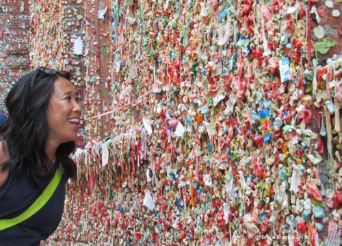 Gum Alley, Post Alley, Seattle WA
