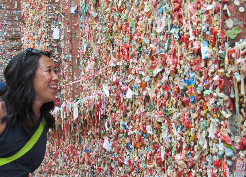 Gum Alley, Post Alley, Seattle WA
