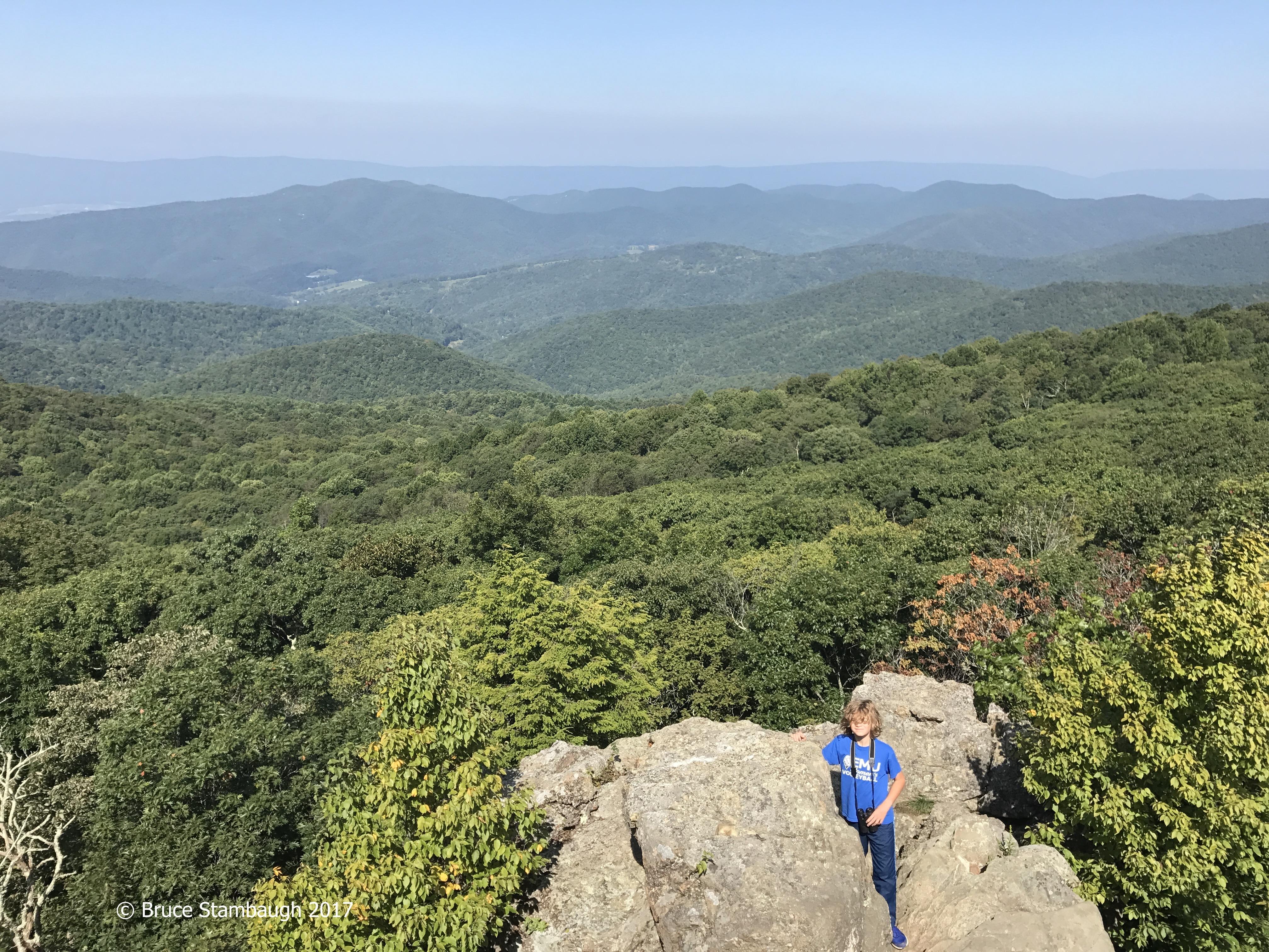 Bearfence Mountain, Shenandoah NP