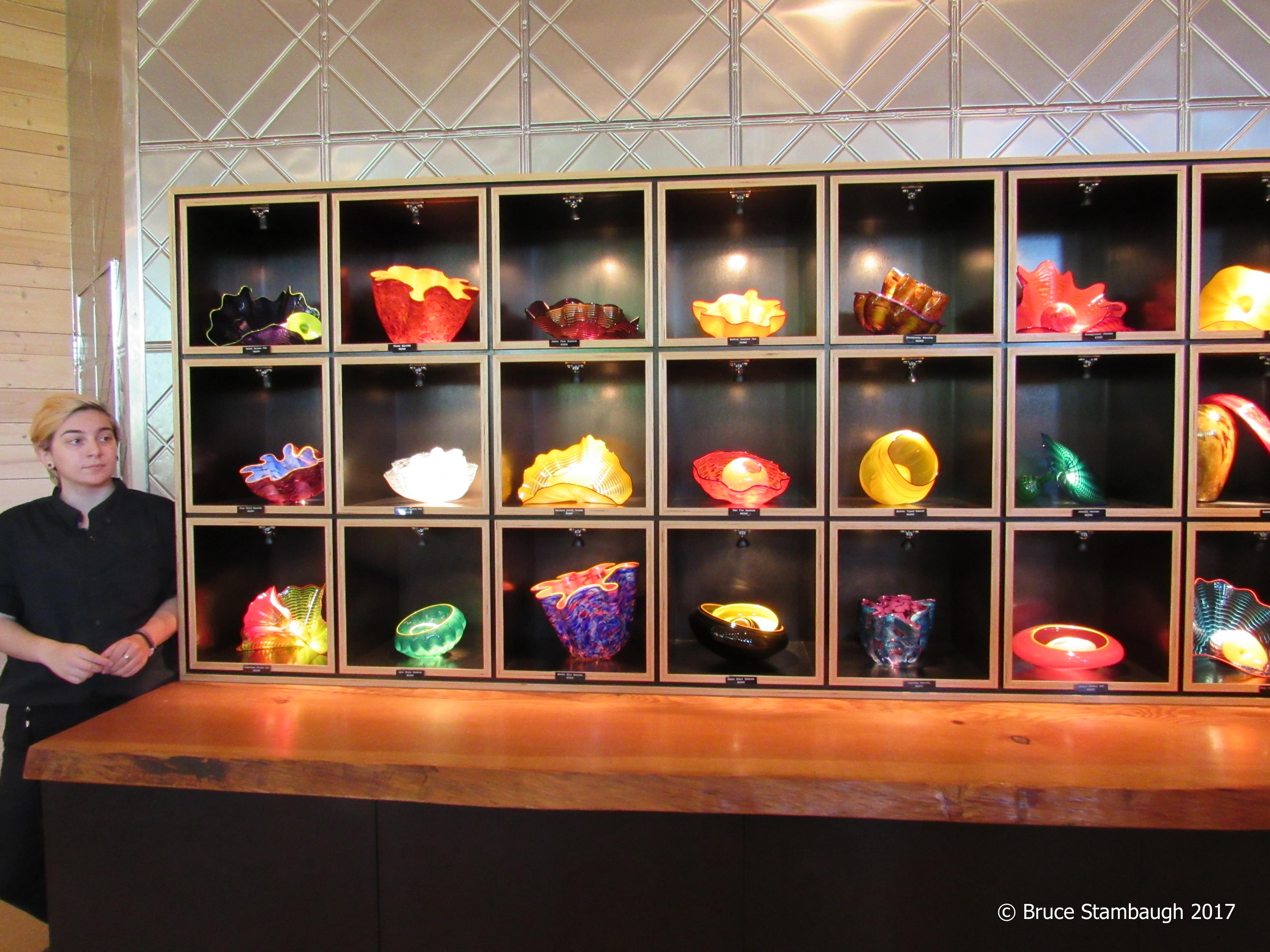 Chihuly Glass, Seattle WA, fall colors