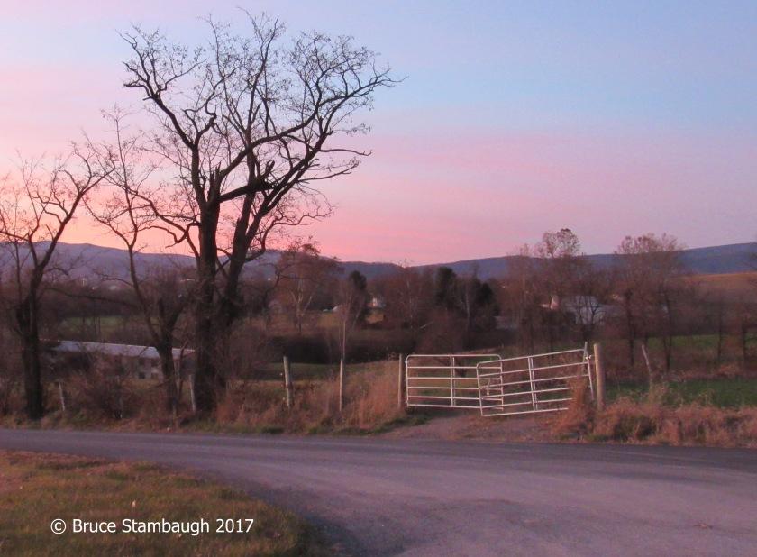 70th birthday, rosy sunset