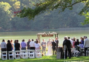 outdoor wedding, Blue Ridge Parkway