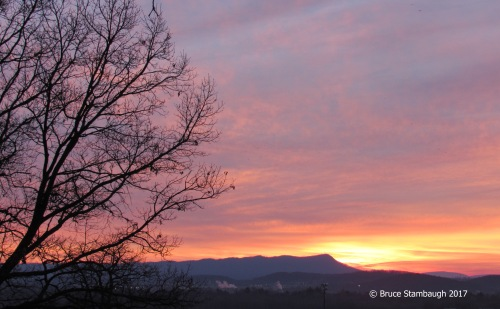 Shenandoah sunrise, Harrisonburg VA