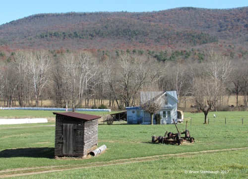 WV farm, cornshed