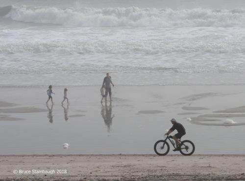 Main Beach Fernandina Beach FL, beach walking, beach bike