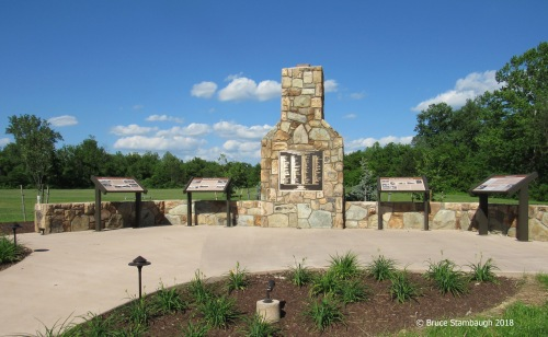 memorial chimney, Shenandoah NP