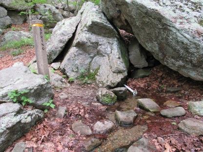 rock spring, Shenandoah NP