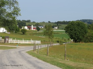 August, Ohio's Amish country