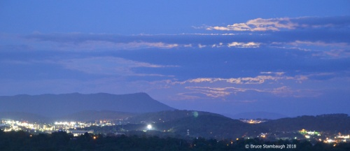 June's Strawberry Moon, Harrisonburg VA