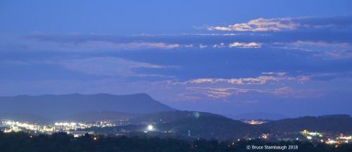 June's Strawberry Moon, Harrisonburg VA
