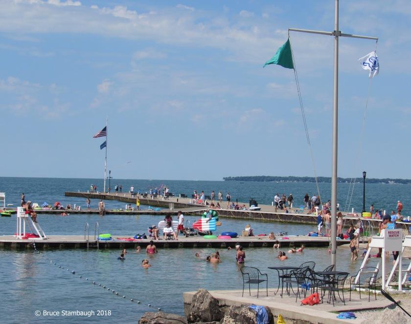 Lakeside Chautauqua, Lakeside OH, swimming