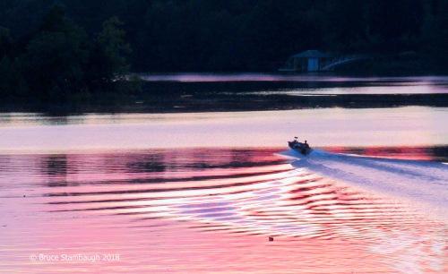 Virginia sunset, August susnet