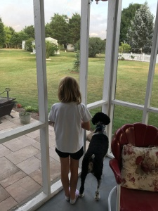 granddaughter, granddog,