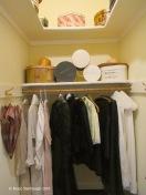 Lady's closet.