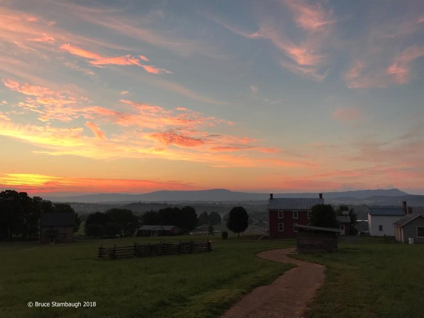 sunrise, Harrisonburg VA