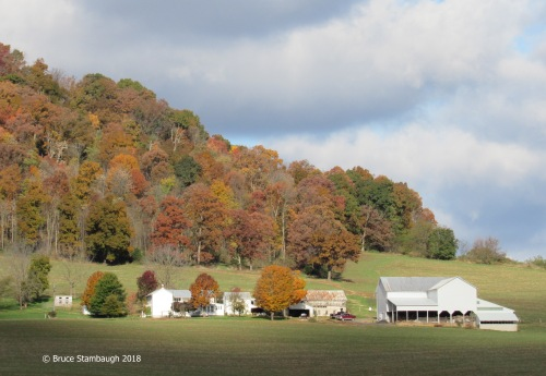 farmstead, Rockingham Co. VA, Shenandoah Valley