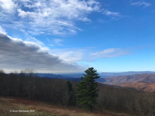 Massanutten Mt., Shenandoah NP, stratocumulus clouds,