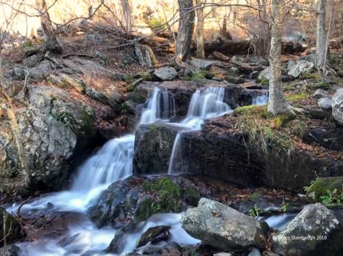 Lewis Falls, Shenandoah NP, hiking