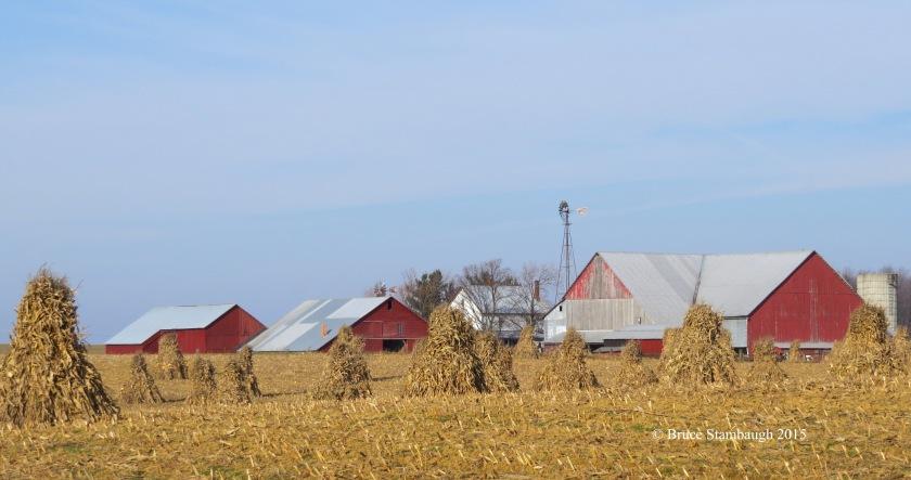 Amish farm, Wayne Co. OH, Ohio's Amish country