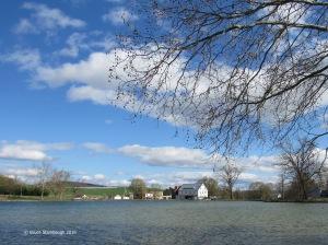 Silver Lake Dayton VA, Silver Lake Mill, mild weather