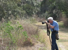 A friendly photographer by Bruce Stambaugh